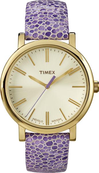 Purple Timex watch